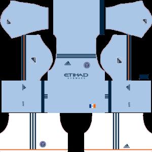 Dream League Soccer New York City FC Kits and Logos 2018, 2019 – [512X512]