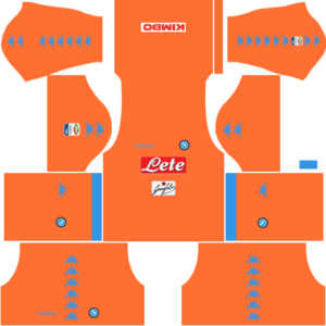 Napoli Goalkeeper Home Kits DLS 2018