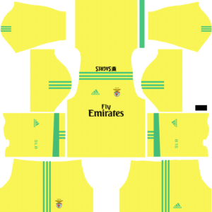 S.L. Benfica Goalkeeper Away Kits DLS 2018