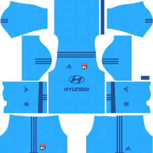 Olympique Lyonnais Goalkeeper Away Kits DLS 2018