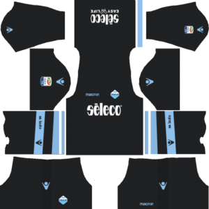 S.S. Lazio Goalkeeper Home Kits DLS 2018
