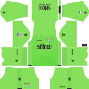 S.S. Lazio Goalkeeper Away Kits DLS 2018