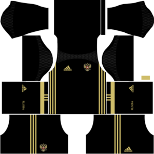 Russia Goalkeeper Kits DLS 2018