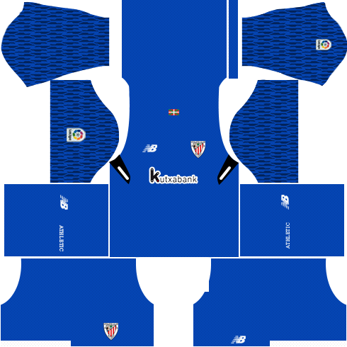 Dream League Soccer Athletic Bilbao goalkeeper home kit 2018 - 2019