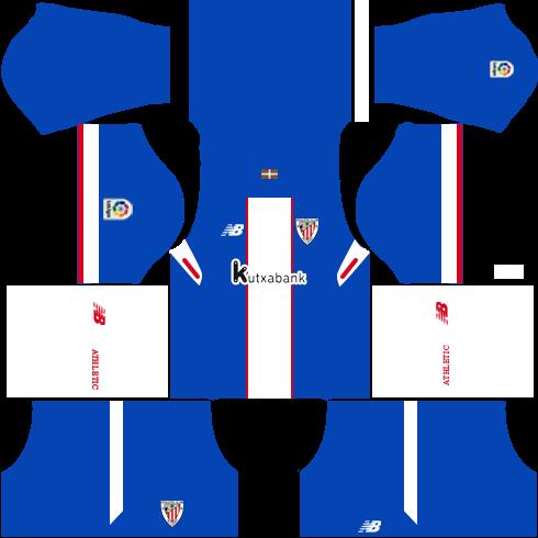 Dream League Soccer Athletic Bilbao third kit 2018 - 2019