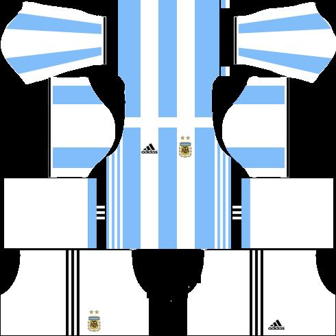 Dream League Soccer Argentina Kits and Logos 2018, 2019 - [512X512]