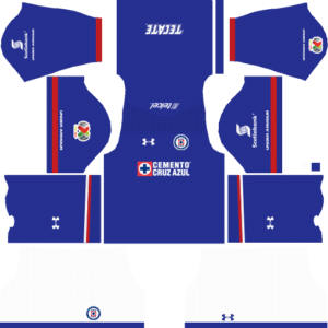 Cruz Azul Home Kits DLS 2018