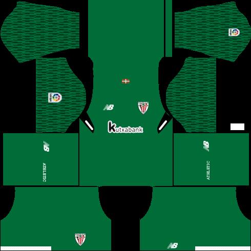 Dream League Soccer Athletic Bilbao goalkeeper away kit 2018 - 2019