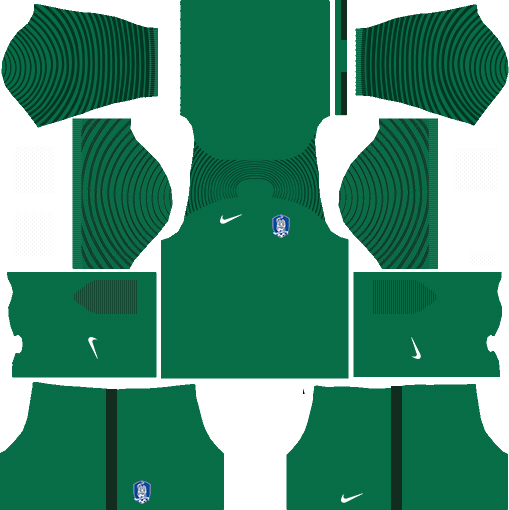 South Korea Goalkeeper Home Kits DLS 2018