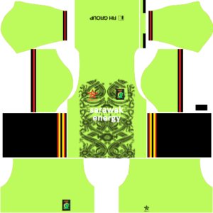 Sarawak Kits Goalkeeper Home DLS 2019