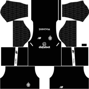 Celtic FC Goalkeeper Away Kit DLS 2018