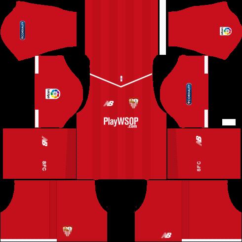 Sevilla FC Away Kits DLS 2018
