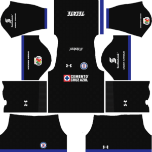 Cruz Azul Away Kits DLS 2018