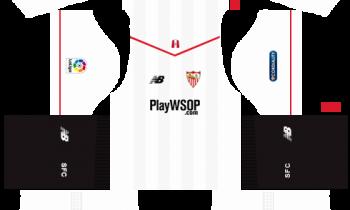 Dream League SoccerSevilla Kits and Logos 2019-2020 – [512X512]