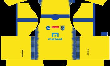 Dream League SoccerKerala Blasters Kits and Logos 2019-2020 – [512X512]