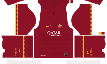 Dream League Soccer AS Roma Kits and Logos 2019-2020 – [512X512]