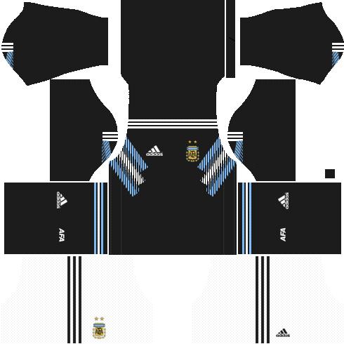 Argentina away kits