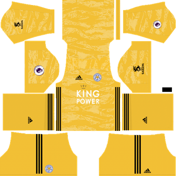 Leicester-City-2019-2020-Goalkeeper-Third-Kit-DLS-19-Kits-Dream-League-Soccer