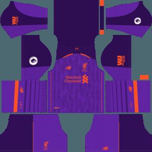 dream league soccer liverpool kits away
