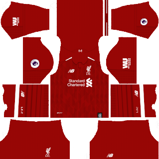 Dream League Soccer Liverpool Kits & Logo 2019 with URLs