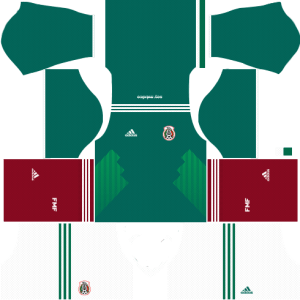 dream league soccer mexico home kit