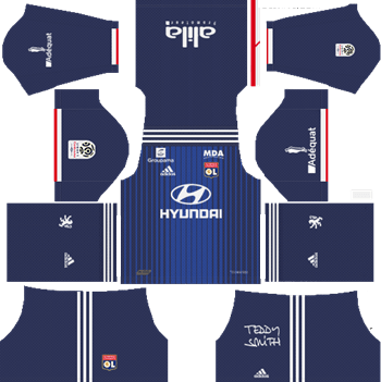 Olympique-Lyonnais-Away-Kit-2019-2020-DLS-19-Kits-Dream-League-Soccer