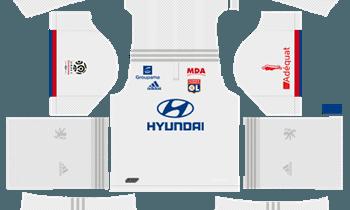 Dream League SoccerOlympique Lyonnasis Kits and Logos 2019-2020 – [512X512]