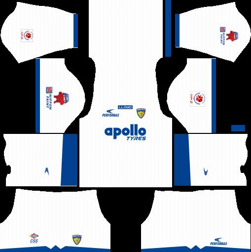 Chennaiyin FC Kits Away 2018