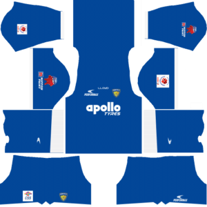 Dream League SoccerChennaiyin FC Kits and Logos 2018, 2019 – [512X512]