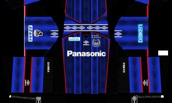 Dream League SoccerGamba Osaka Kits and Logos 2019-2020 – [512X512]