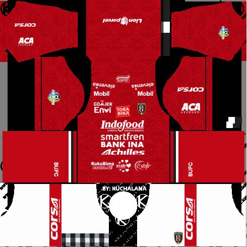 bali united home kit 2018