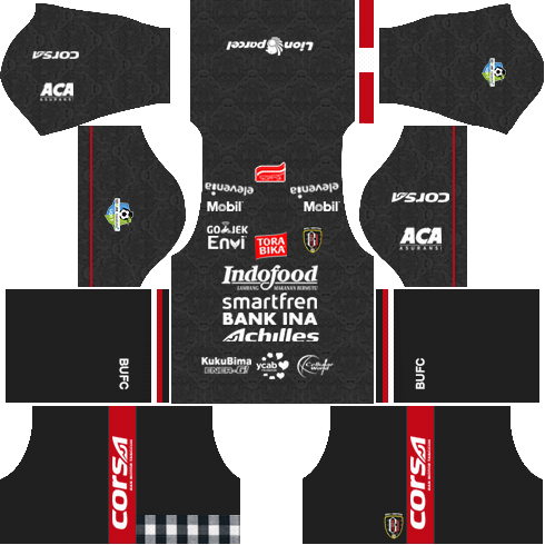 bali united third kit 2018 - 2019-2020
