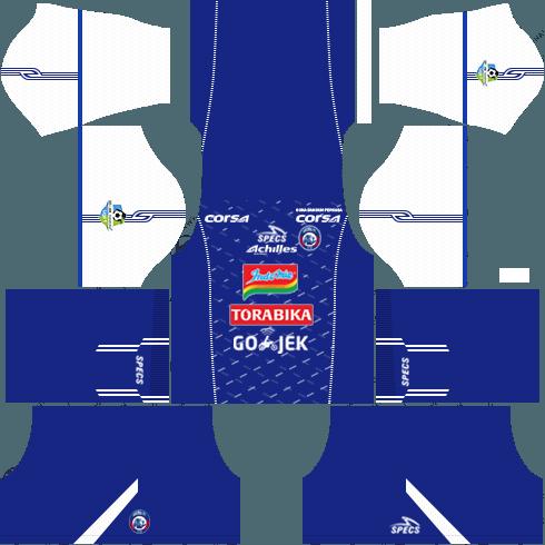 Arema FC Home Kit DLS 2018