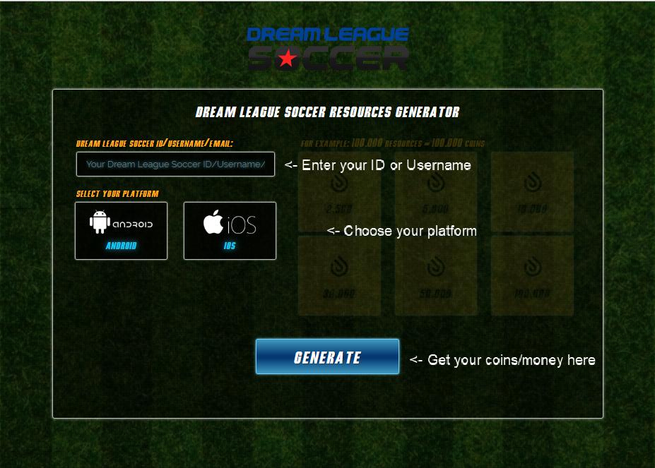 dream league soccer cheat codes