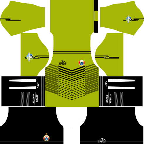Dream League Soccer Persija Jakarta goalkeeper away kit 2018 - 2019