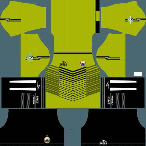 f01849e0f Dream League Soccer Persija Jakarta goalkeeper away kit 2018 - 2019