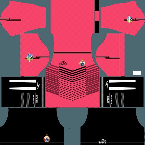Dream League Soccer Persija Jakarta goalkeeper third 2018 - 2019-2020