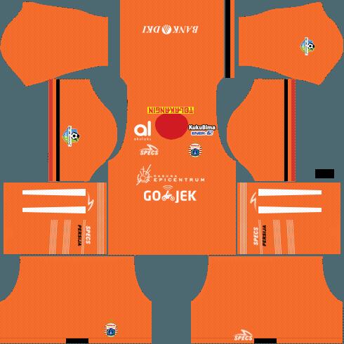 Dream League Soccer Persija Jakarta third kit 2018 - 2019-2020