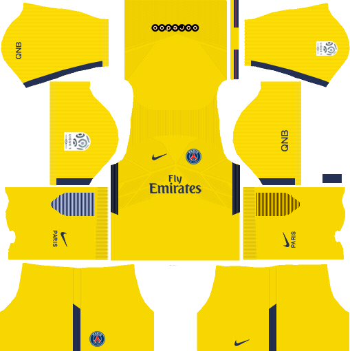 dream league soccer psg kits - away kit