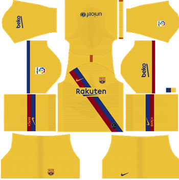 Barcelona-Away-Kit-2019-20-DLS-19-Kits-Dream-League-Soccer
