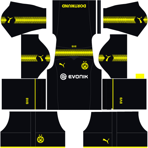Borussia Dortmund dls team away kit