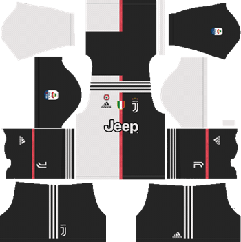 Juventus-Home-Kit-2019-2020-DLS-19-Kits-Dream-League-Soccer