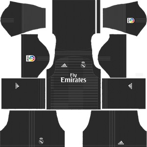 Dream League Soccer Real Madrid goalkeeper home kit 2018 - 2019
