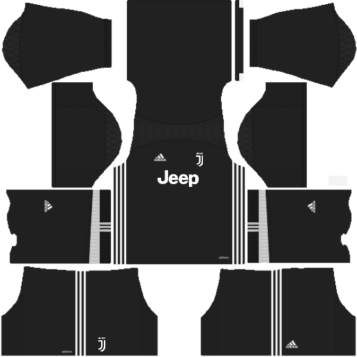 Dream League Soccer Juventus goalkeeper away kit 2018 - 2019