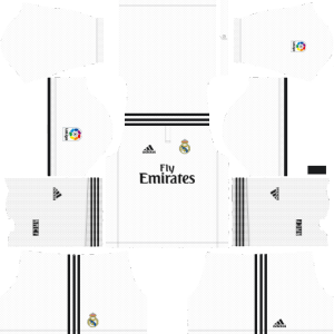 Dream League Soccer Real Madrid home kit 2018 - 2019