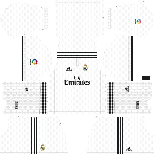 DLS Real Madrid Home Kit
