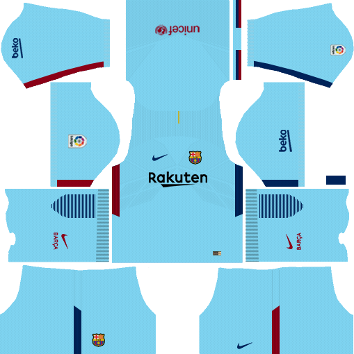 dream league soccer barcelona away kit