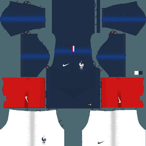 dream league soccer france kit home