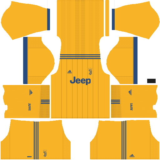Dream League Soccer Juventus away kit 2018 - 2019