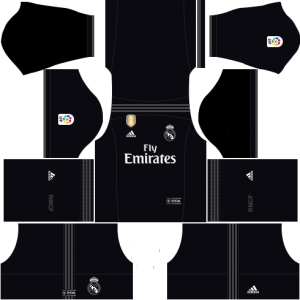 Dream League Soccer Real Madrid away kit 2018 - 2019